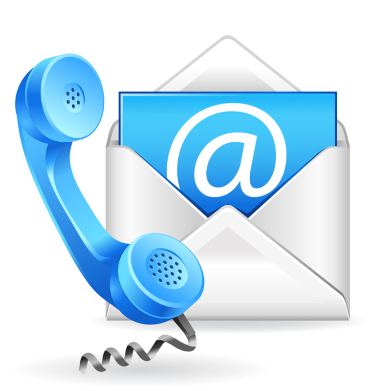 Telephone email support